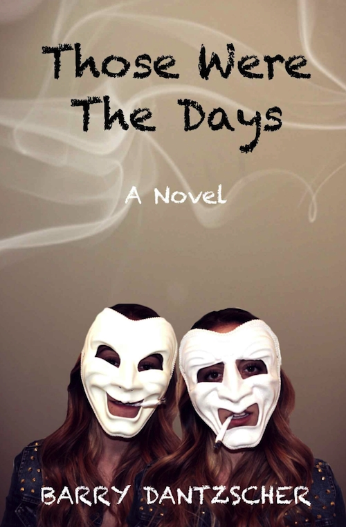 Book cover with two women wearing white masks
